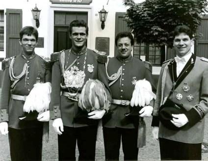 König und Minister 1995